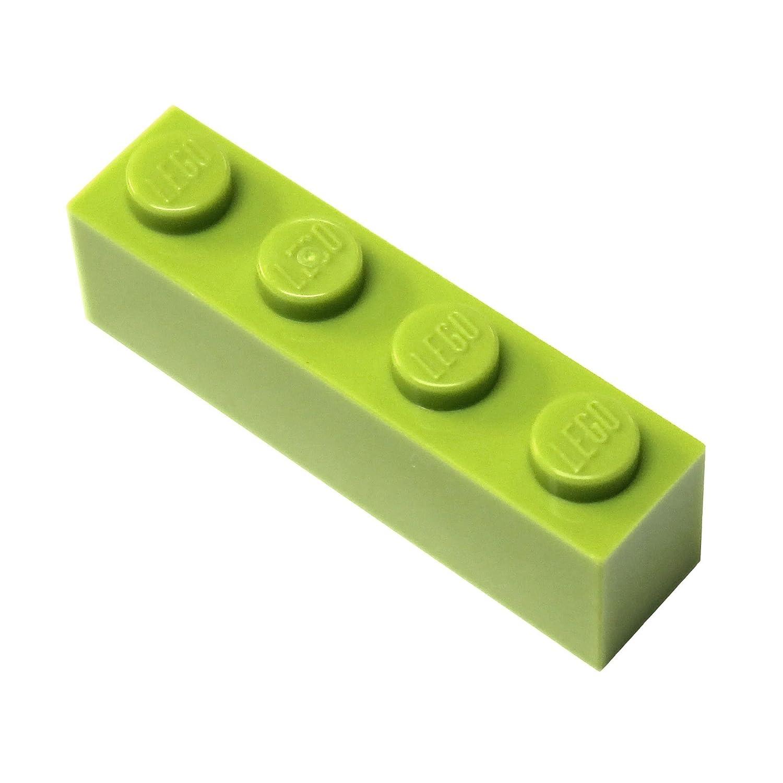 Lego City–20piedras con 1x 4Grano en color amarillo (Lime)