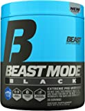Beast Sports Nutrition, Beast Mode Black Pre-Workout, Blue Raspberry, 8.47 Ounce