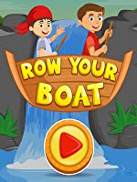 Row Row Row Your Boat | Nursery Rhymes for Kids