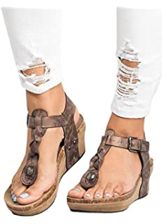 23c1562f738 Ru Sweet Womens Suede Tassels Thong Flat Sandals Flip Flops Fringe Shoes