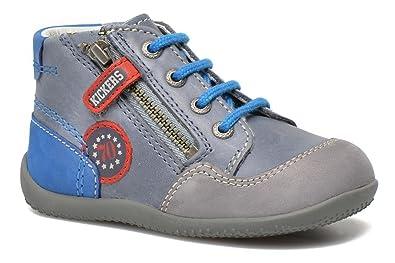 4d36654a4a6d7 Kickers BI Free Bleu et Gris (22)  Amazon.fr  Chaussures et Sacs