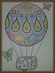 amazoncom happy campers coloring book coloring is fun