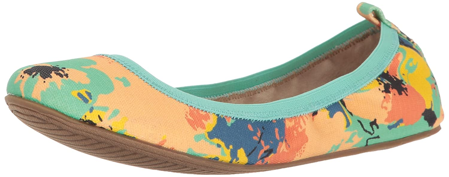 Unlisted Women's Whole Truth Ballet Flat B01MY38A14 8.5 B(M) US|Natural Multi