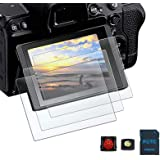 PCTC 9H Camera Tempered Glass LCD Screen Protector Compatible for Nikon Z5 Z 5 ProtectIve Cover Film (3 packs)