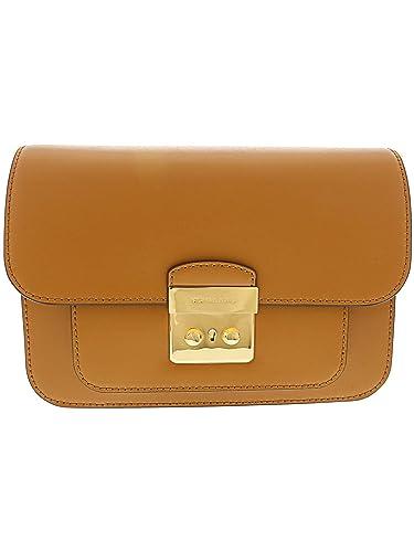 f7fce5bd345a Michael Kors Sloan Editor Large Shoulder Bag- Acorn: Handbags: Amazon.com