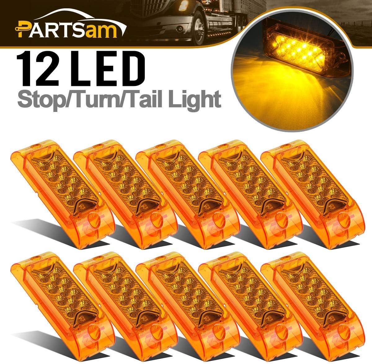 Partsam Amber Lens 2