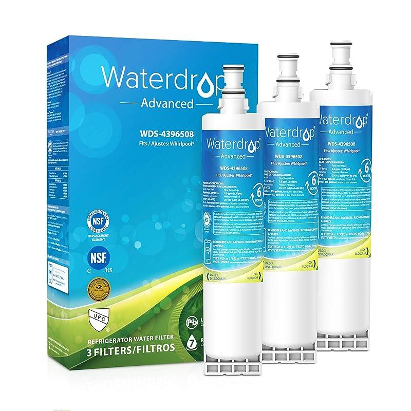 Fits Whirlpool ED25QFXHW00 Refrigerators Aqua Fresh Replacement Water Filter