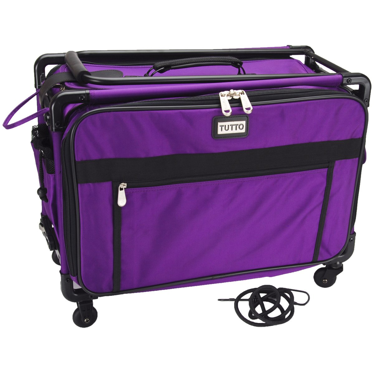 Papermania craft tote - Tutto Craft On Wheels Large Case 22 X15 X12 Purple Amazon Co Uk Kitchen Home