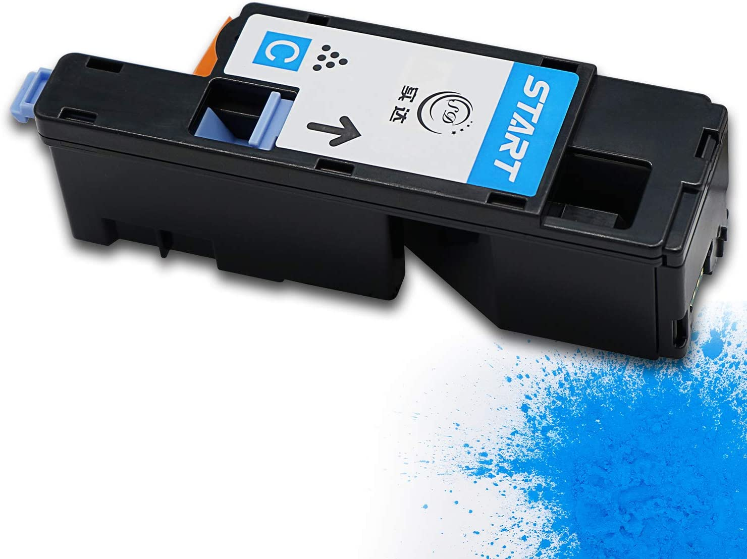 Start Compatible for Dell C1660w Cyan 332-0400 Toner Cartridge