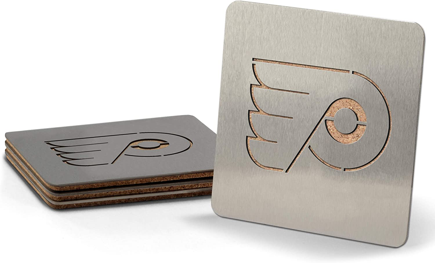 YouTheFan NHL Boasters 4-Piece Coaster Set