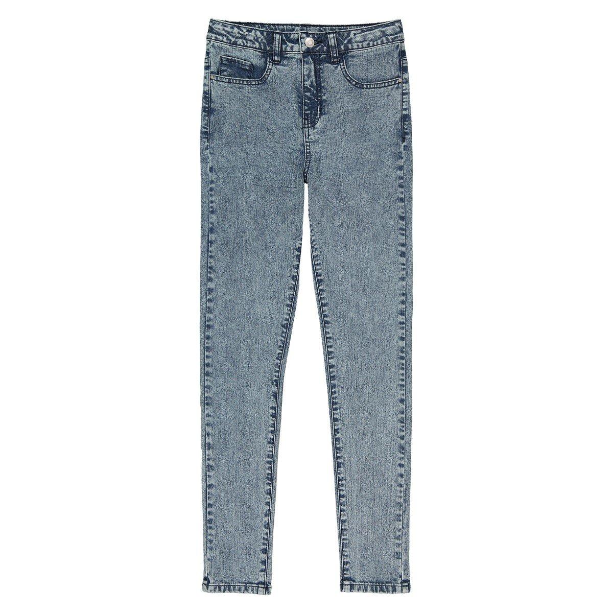 La Redoute Collections Bambina Jeans Skinny Effetto Neve Vita Alta 1016 Anni 350112044
