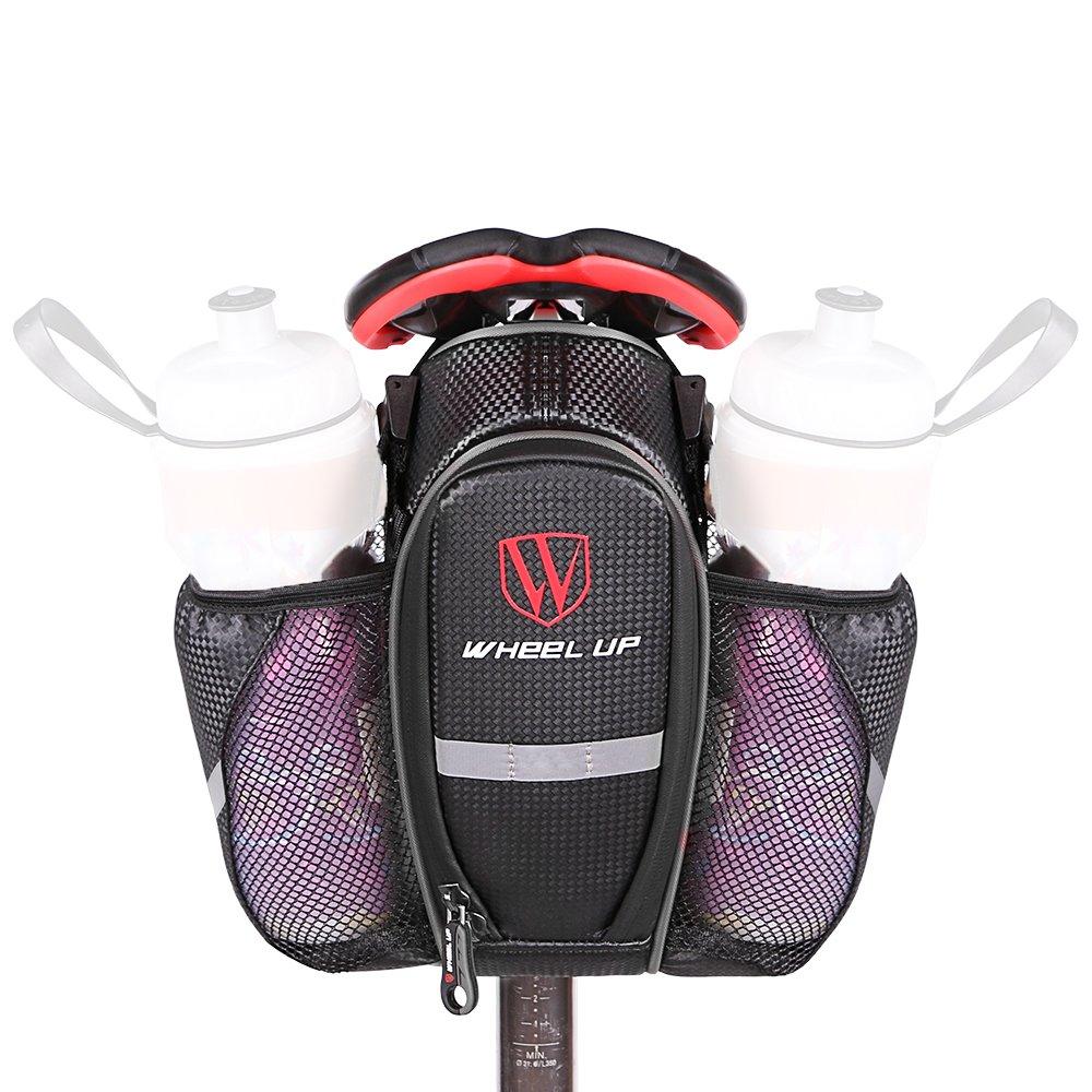 WATERFLY Bike Saddle Bag Waterproof Bicycle Package Bike Seat Bags Pouch Water Bottle Holder Mountain Bike Road Bike