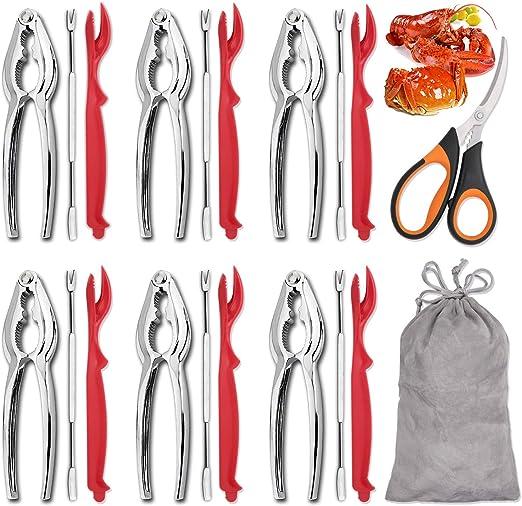 Amazon.com: Hiware - Juego de herramientas para mariscos de ...