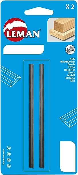 Leman 142.778.02 Pack de 2 Cuchillas de Cepillo eléctrico, MD 78 x ...