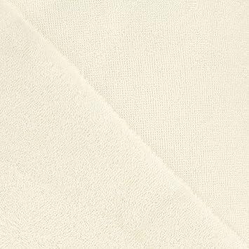 Perles & Co Toallitas Esponja Viscosa de bambú Oeko-Tex Crudo x10cm