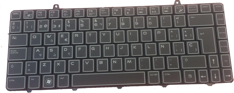 Dell Alienware M11X R1 R2 R3 Spanish Castillian Keyboard 2M62X