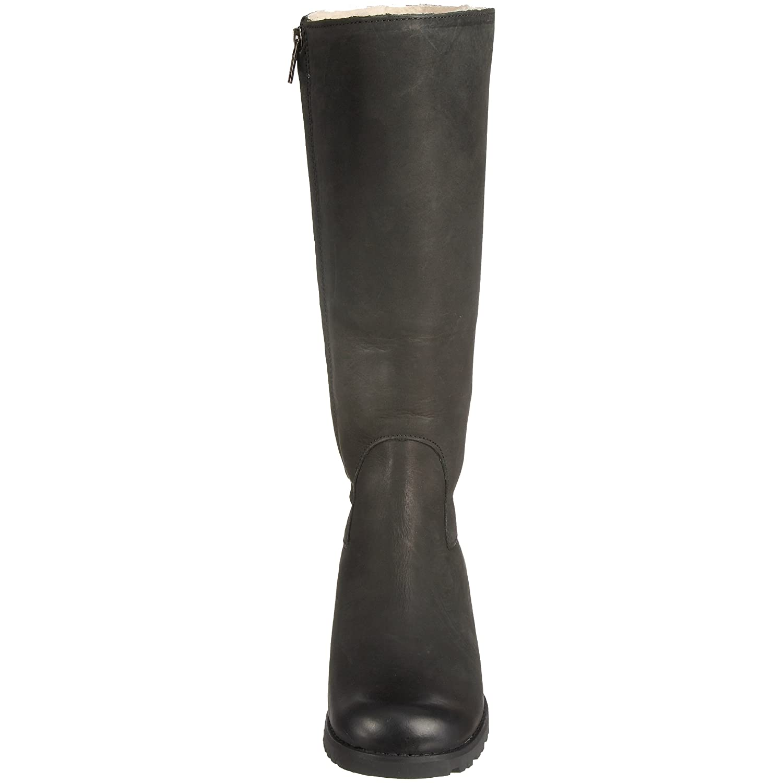 ffba8fea1fd Amazon.com | UGG Australia Women's Broome II Boots, Black Leather ...
