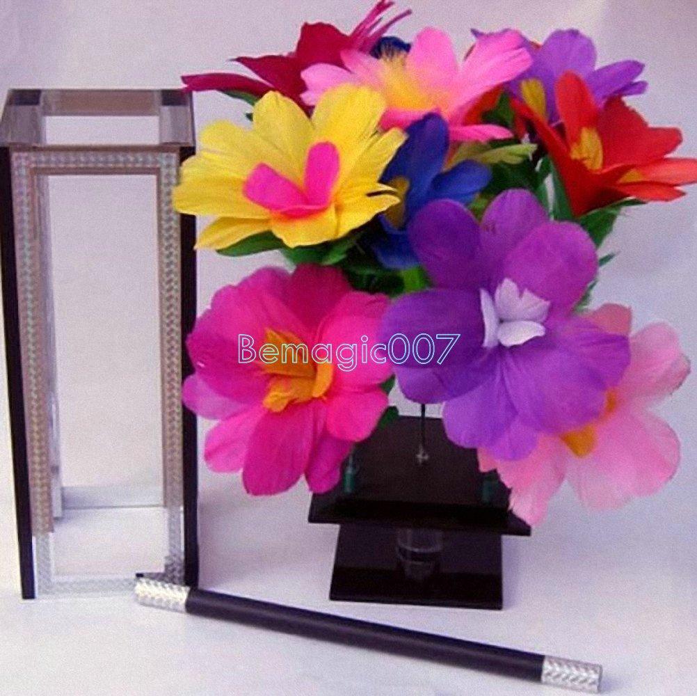 Flower Maker Tube - Stage Magic Tricks