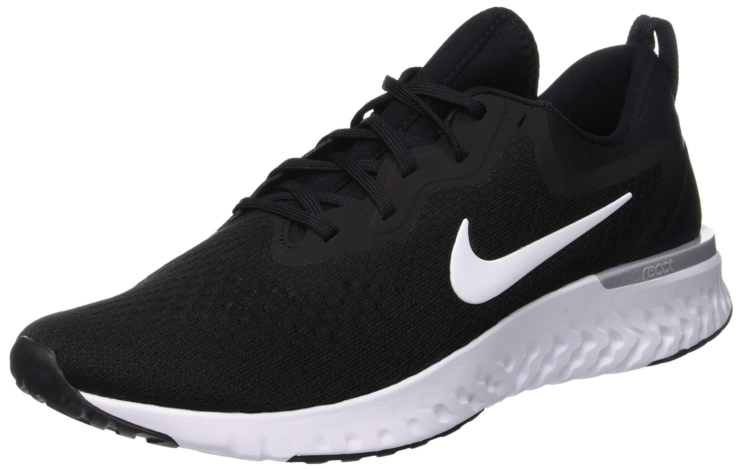 Nike Men's Odyssey React Running Shoe Black/White-Wolf Grey 7.5 by Nike (Image #1)