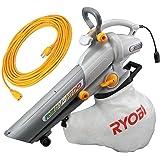 リョービ(RYOBI) ブロワバキューム RESV-1500F 延長コード10m×2本セット 4989643
