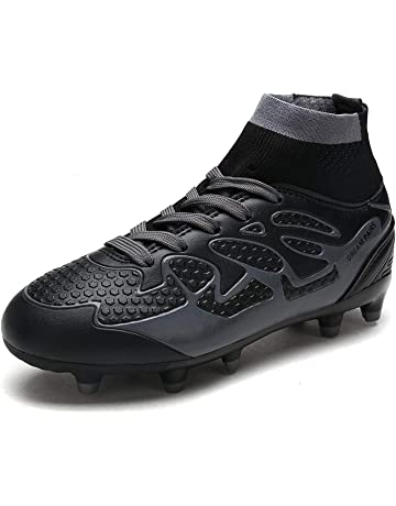 best service 737cb d4387 DREAM PAIRS Boys Girls Athletic Soccer Football Cleats Shoes(Toddler Little  Kid Big