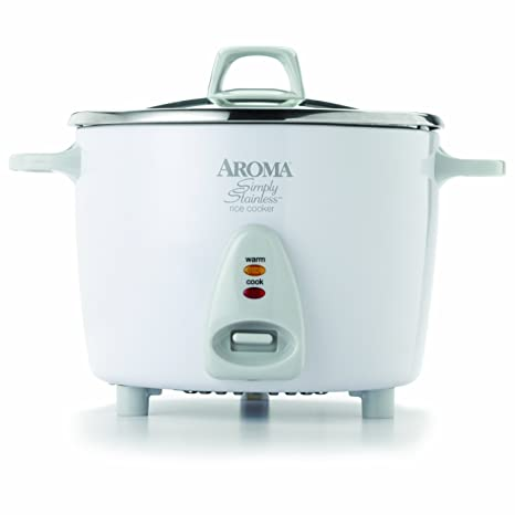 Amazon Aroma Housewares Simply Stainless 14 Cup Cooked 7 Cup