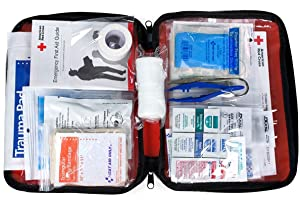 First Aid Only Be Red Cross Ready First Aid Kit, 73 Pieces