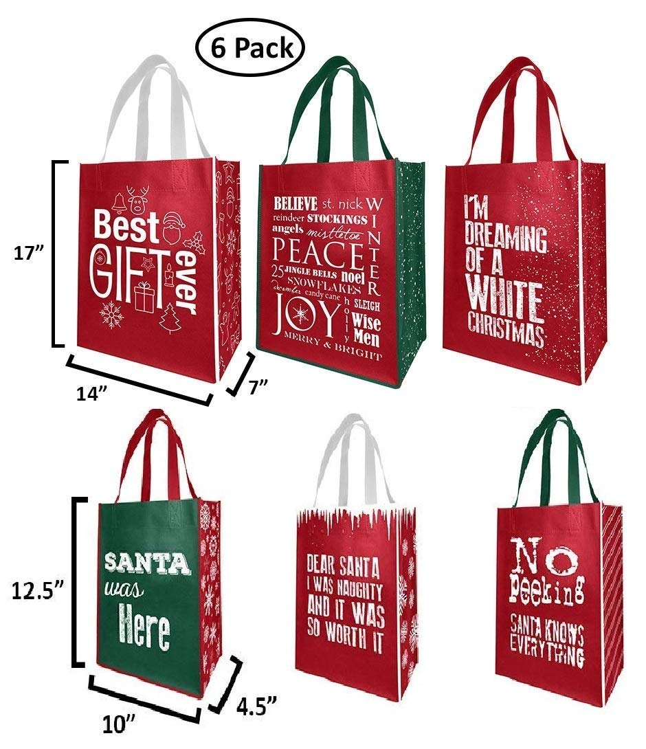Amazon.com: Earthwise - Bolsas de regalo reutilizables para ...