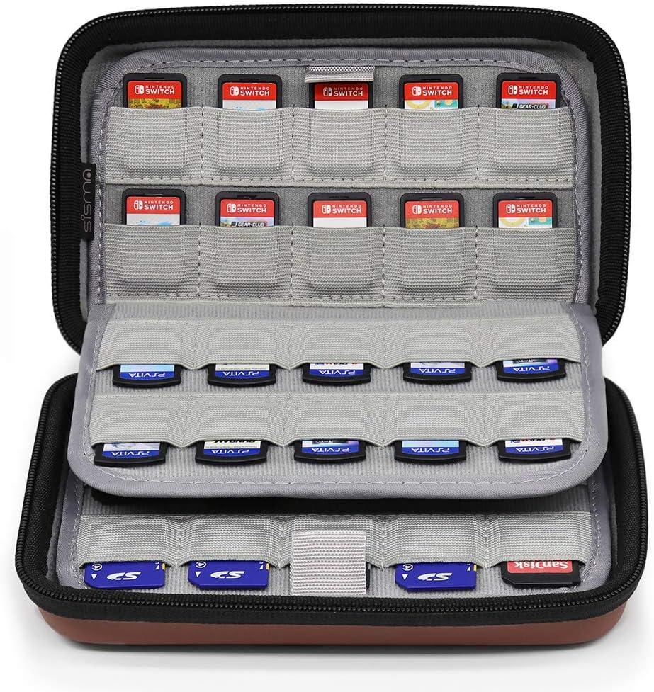 Amazon.com: Sisma 80 Game Cartridge Holders Storage Case for ...