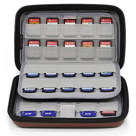 Sisma Funda para 80 cartuchos de juego Nintendo Switch ...