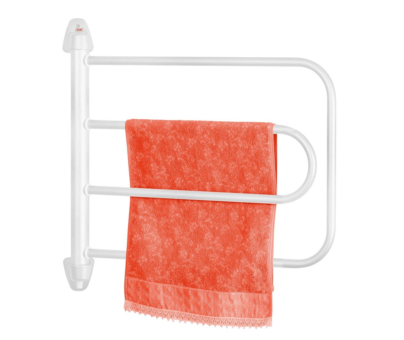 Orbegozo TH 8000 - Toallero de baño eléctrico, 95 W de potencia, color blanco: Amazon.es: Hogar