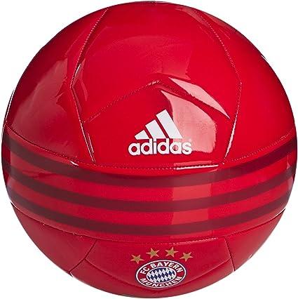 adidas FC Bayern - Balón de fútbol, Color Blanco/Rojo/Negro ...