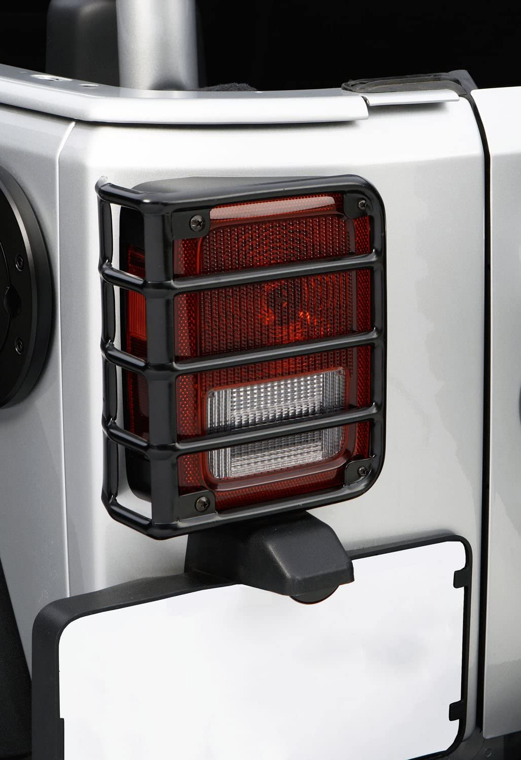 Outland 391122602 SALENEW very popular Black Euro Tail Light Wrangl for Guard Jeep JK 2021 autumn and winter new