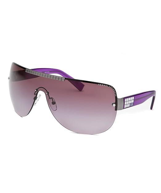 e0536ca235 ARMANI EXCHANGE Gafas de sol AX 2005 60078H Grape Bright Gunmetal 55MM:  Amazon.es: Ropa y accesorios