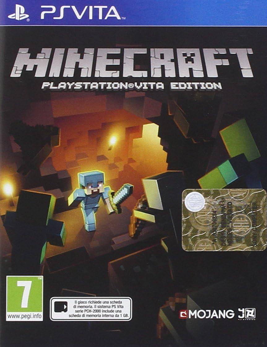 Sony Minecraft, PS Vita - Juego (PS Vita, PlayStation Vita, Acción ...