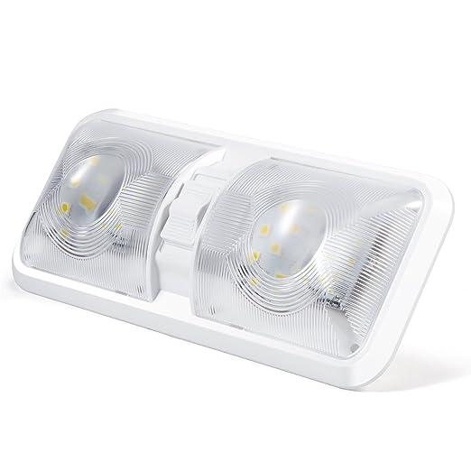 12 opinioni per Kohree Lampada LED Plafoniera Illuminazione interna per auto / RV / Rimorchio /