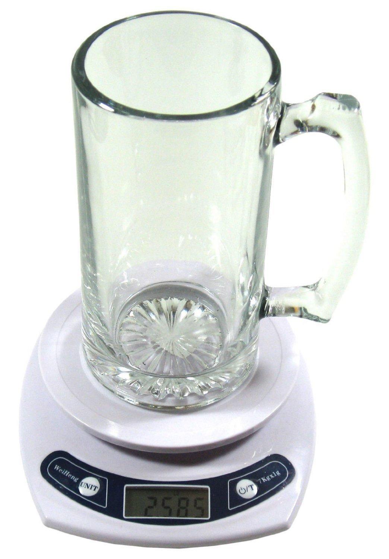 Lauryn Janae Premium Glassware 26.5oz Extra Tall/Large Super Size, Brewmasters, Homebrewers, Beer Lovers, Glass Beer Stein, Tankard Drinkware Beer Mug (Set of 2)