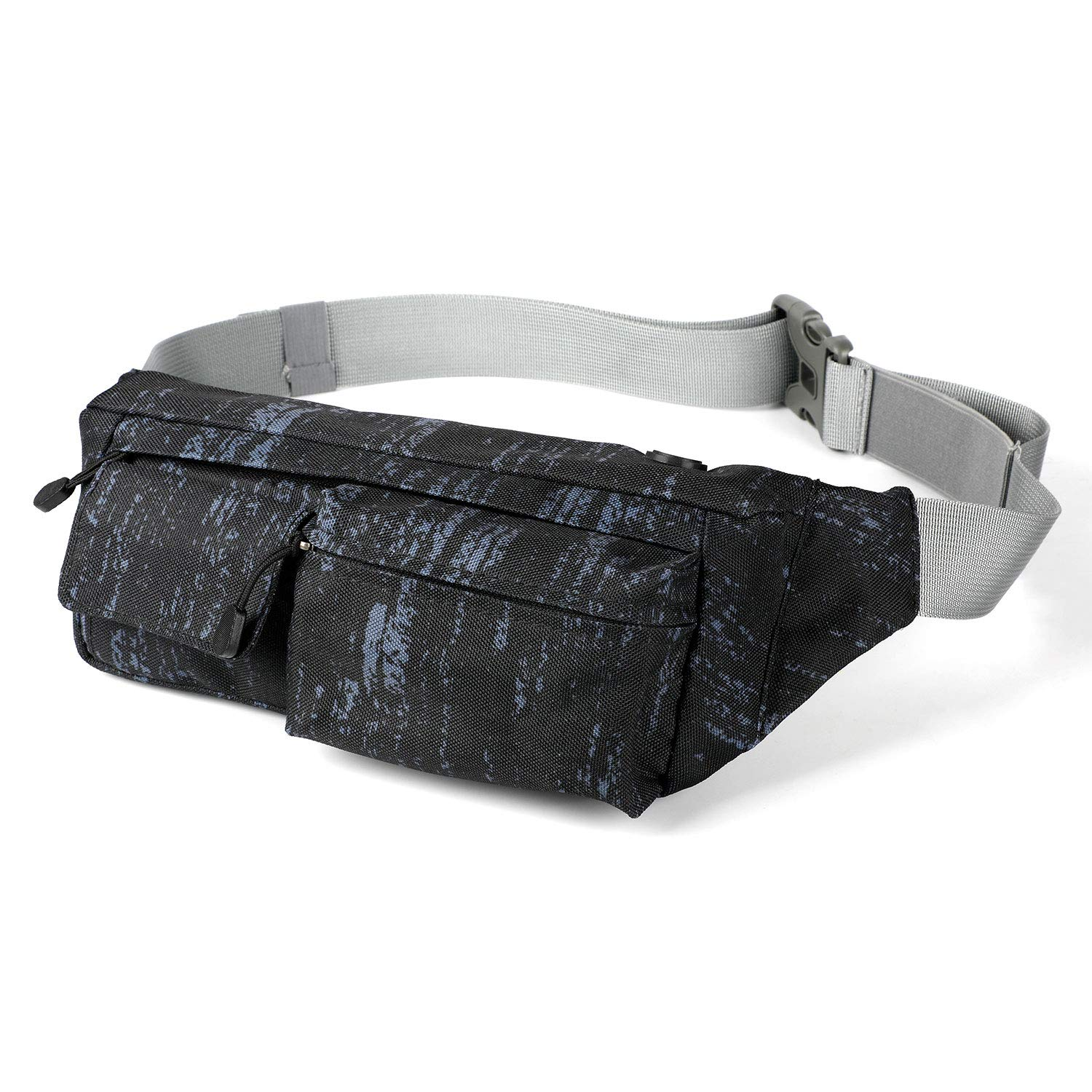 Osportfun Running Belt Waist Bag Fanny Pack for Men Women – Ultra Light Hiking Pouch Fitness Workout Sport Waist Pack Exercise Belt Bag for All Kinds of Phones