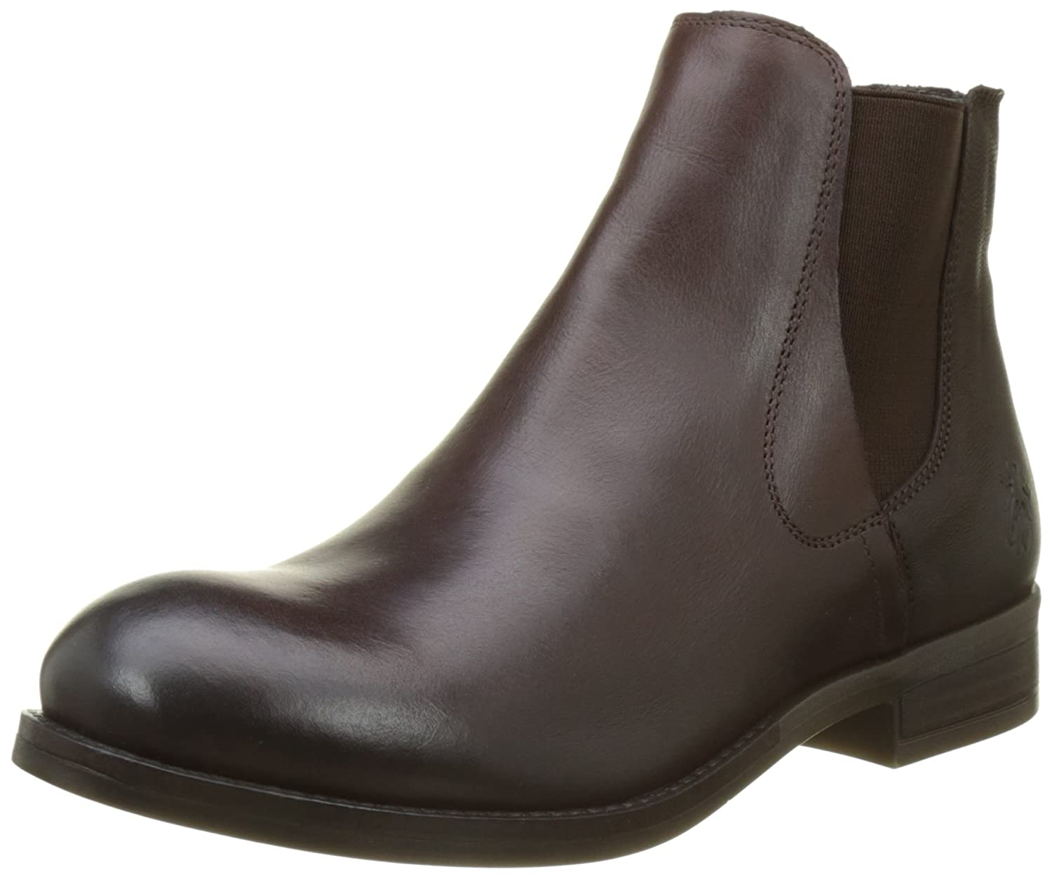 FLY London Women's Alls076fly Chelsea Boot B06WWKDDC7 40 M EU (9-9.5 US)|Dark Brown/Chocolate Rug/Cupido