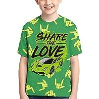 Kids Novelty T-Shirts Boys Girls Pullover Daily Tees Funny Short Sleeve Shirt