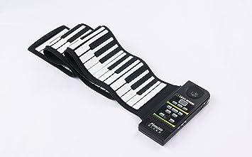 Express Panda Piano teclado silicona Flexible Roll piano con ...