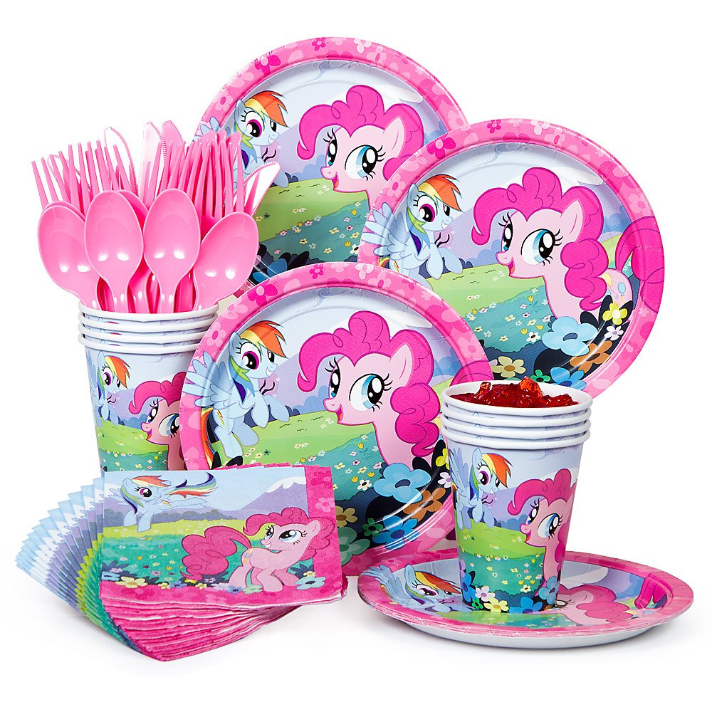My Little Pony Standard Kit Serves 8 Party Packs Amazon Canada