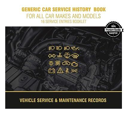 Libro de registro de revisiones del vehículo para todos los modelos (1)