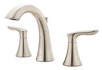 Pfister Weller Lg49 Wr0k 2 Handle 8 Widespread Bathroom Faucet In