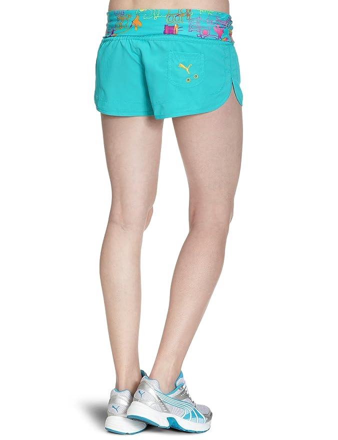 e13c4c19e2cd36 PUMA Damen Badeshorts Jamaica Beach Hot Pants: Amazon.de: Sport & Freizeit