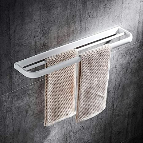 Todo el cobre Cuarto de baño Toallero de,Poste doble Audaces Barra de toalla ,