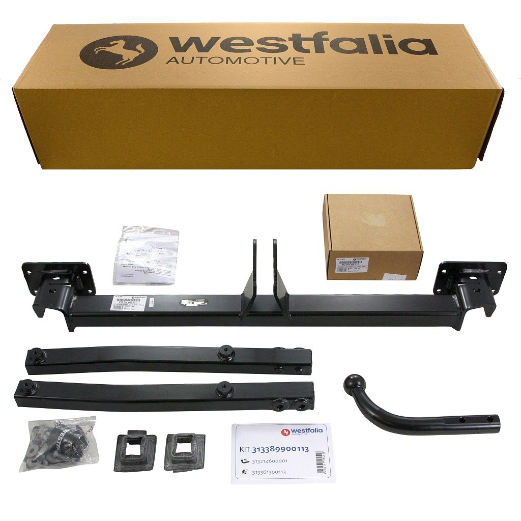 Westfalia 313389900113 Fixed Swan Towbar Car Motorbike Wiring Kit Instructions