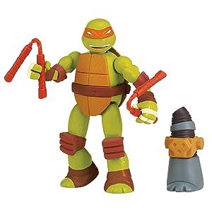 Teenage Mutant Ninja Turtles Mix & Match Michelangelo Figure Action Figure