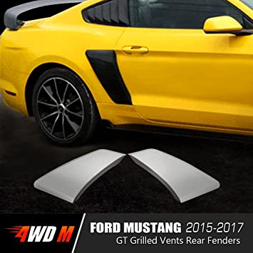 4WDMUSCLE GT Style Rear Side Fender Scoops Vents Ford