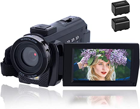 Videocámara 1080P CofunKool Video Camara 24MP FHD Vlogging Camera ...
